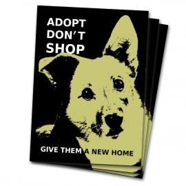 Adopt Don't Shop -tarranippu