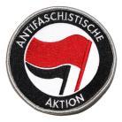 Antifaschistiche aktion -punamusta patchi