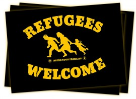 Refugees Welcome -tarranippu