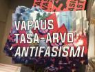 Vapaus, tasa-arvo, antifasismi -tarranippu